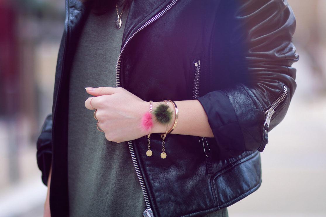 bracelets pompons linapoum