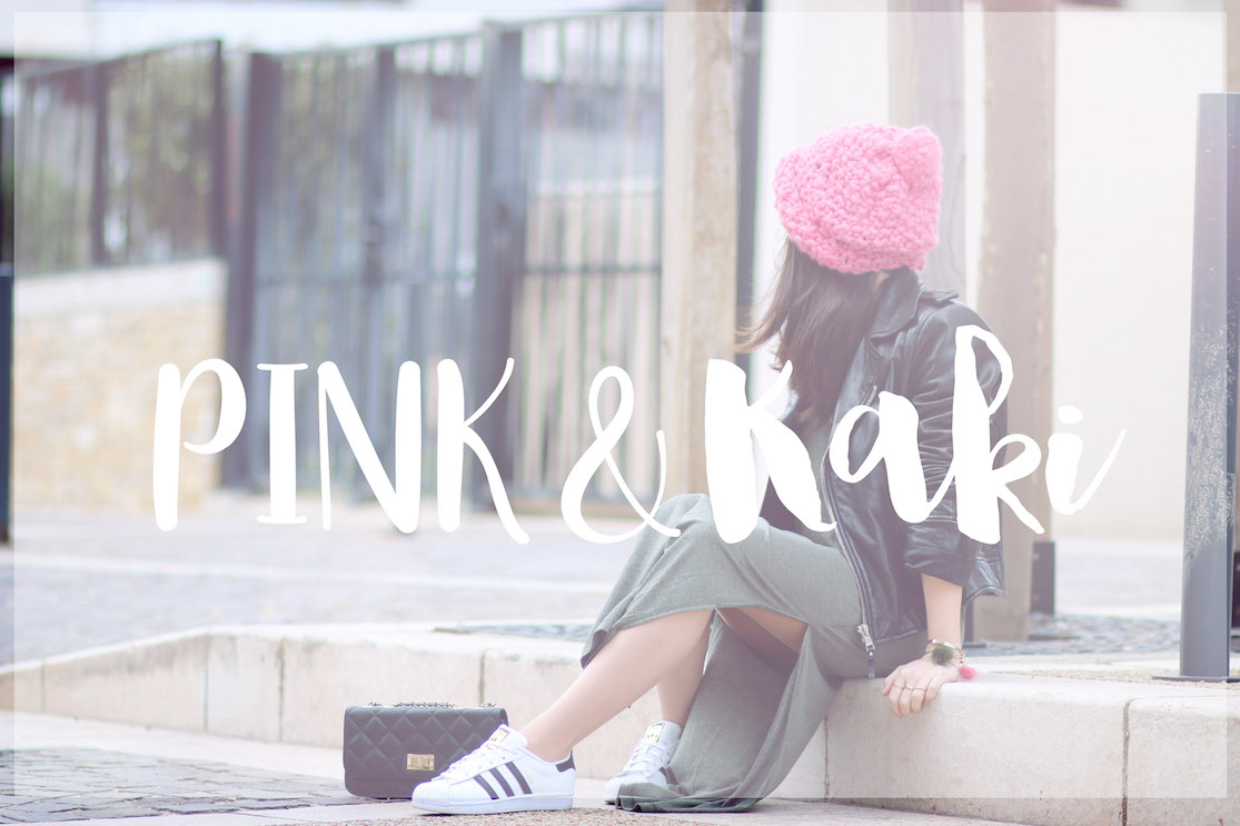 Pink & Kaki