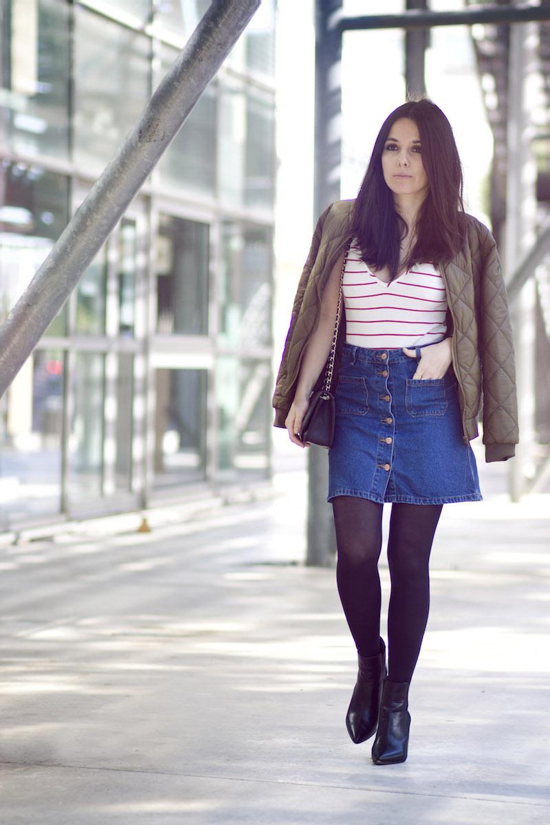 blog mode jupe jean