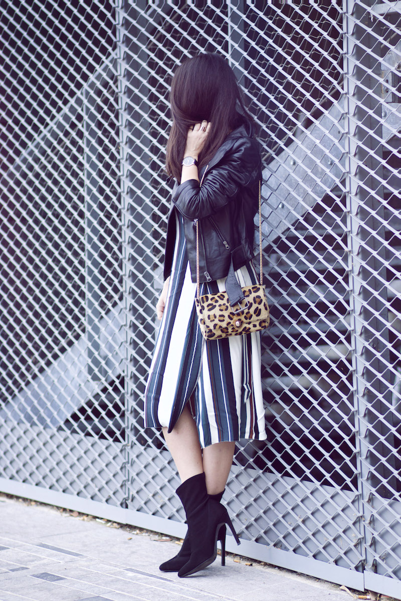 blog mode robe rayée
