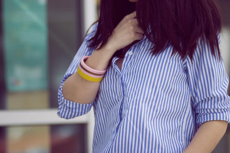 chemise rayée boden