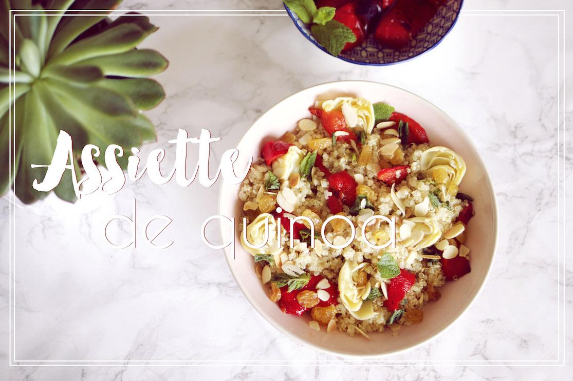 Assiette de quinoa