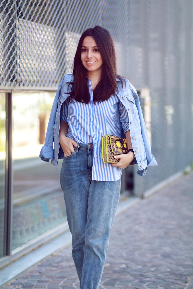 blog mode chemise rayée