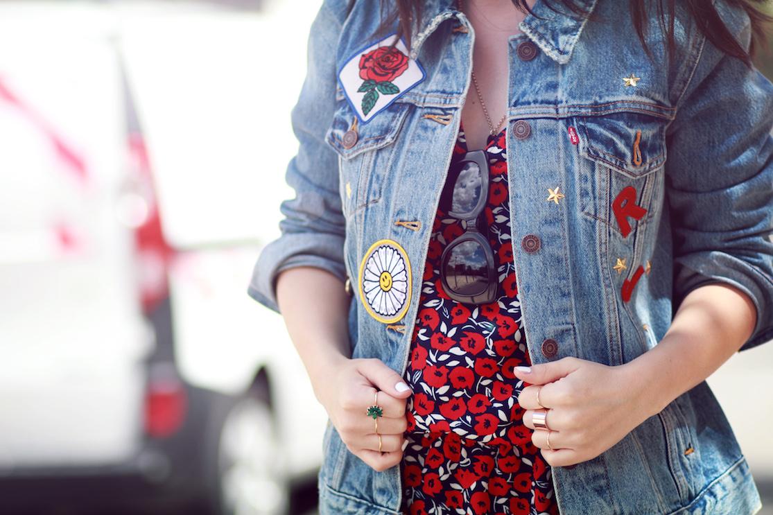 blog mode veste jean personnalisée