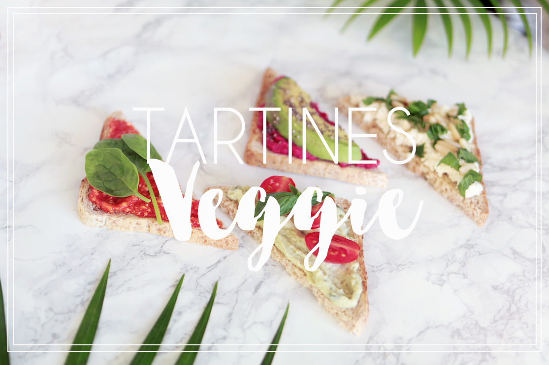 Tartines Veggie {concours inside}