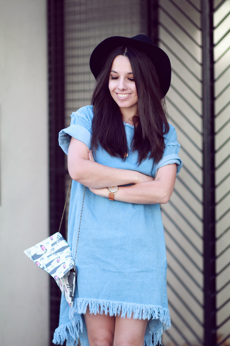 blog mode robe jean
