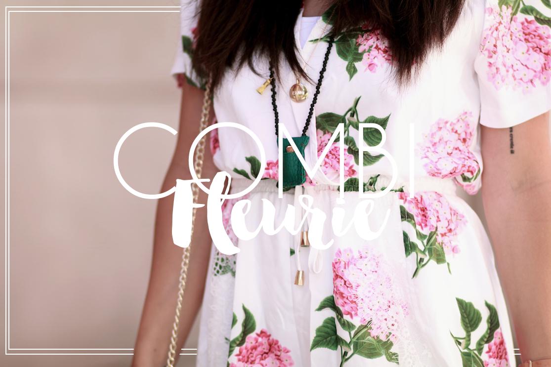 Combi fleurie