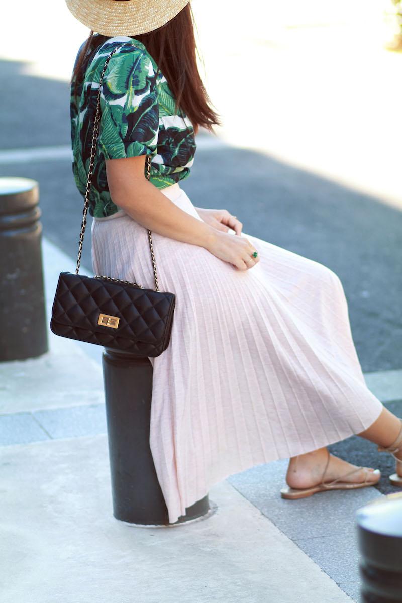 blog-mode-jupe-plissée-rose