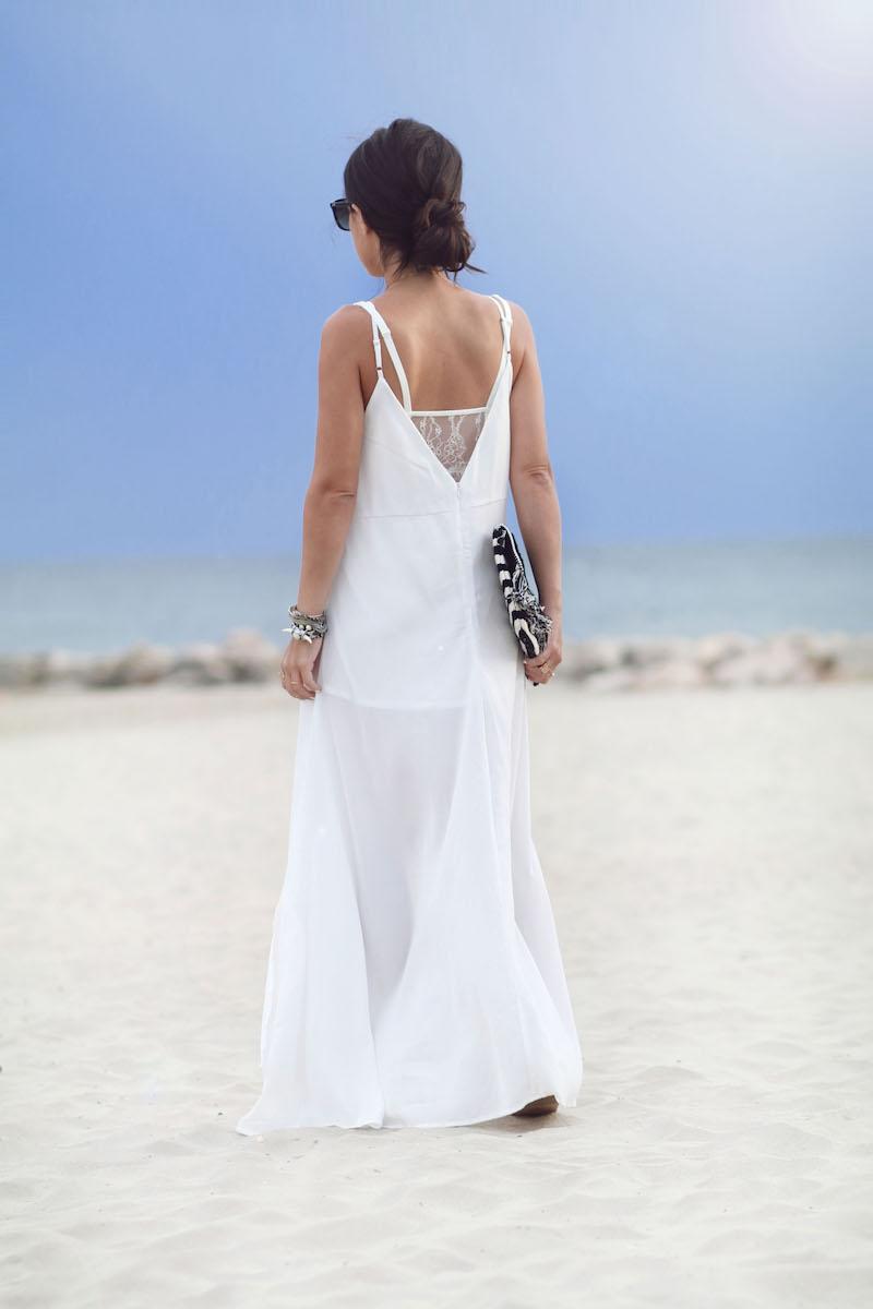 blog mode longue robe blanche