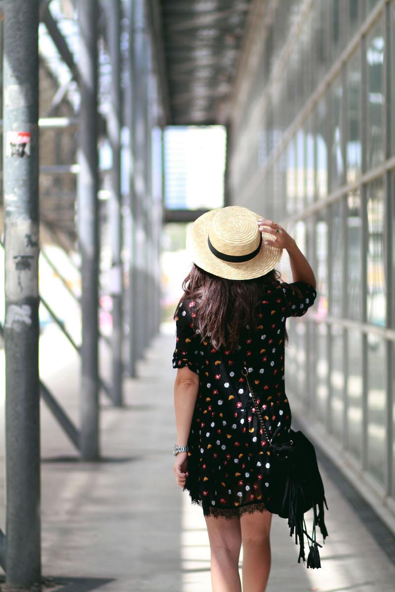 blog mode robe fleurs mango