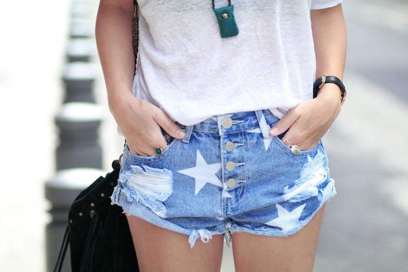 blog mode short étoiles