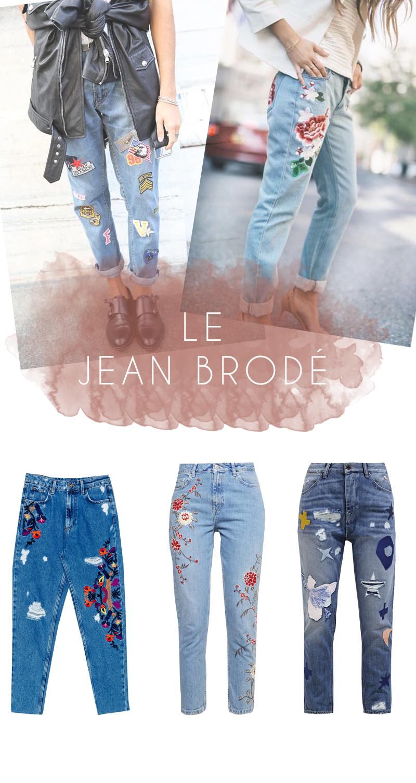 TENDANCE-jean-brodé-patchs