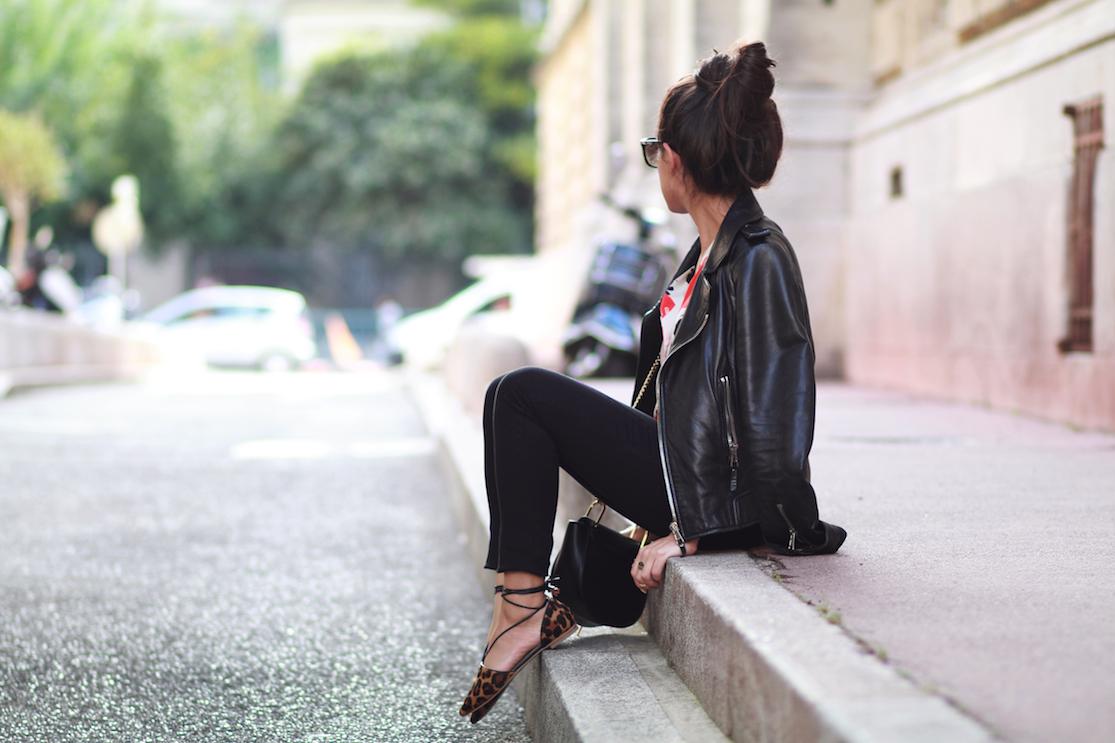 look-ballerines-leopard-perfecto-jean-noir-slim