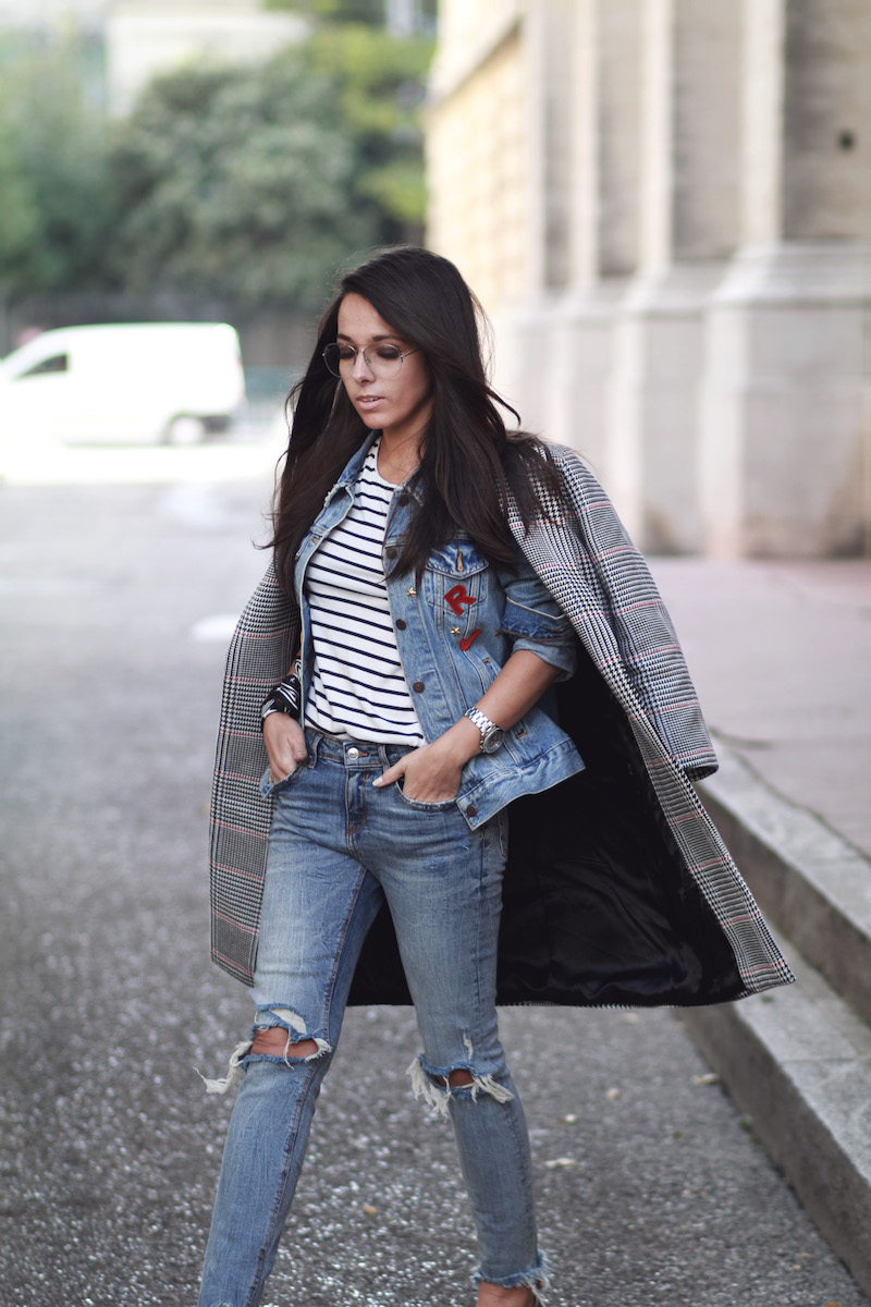look-manteau-carreaux