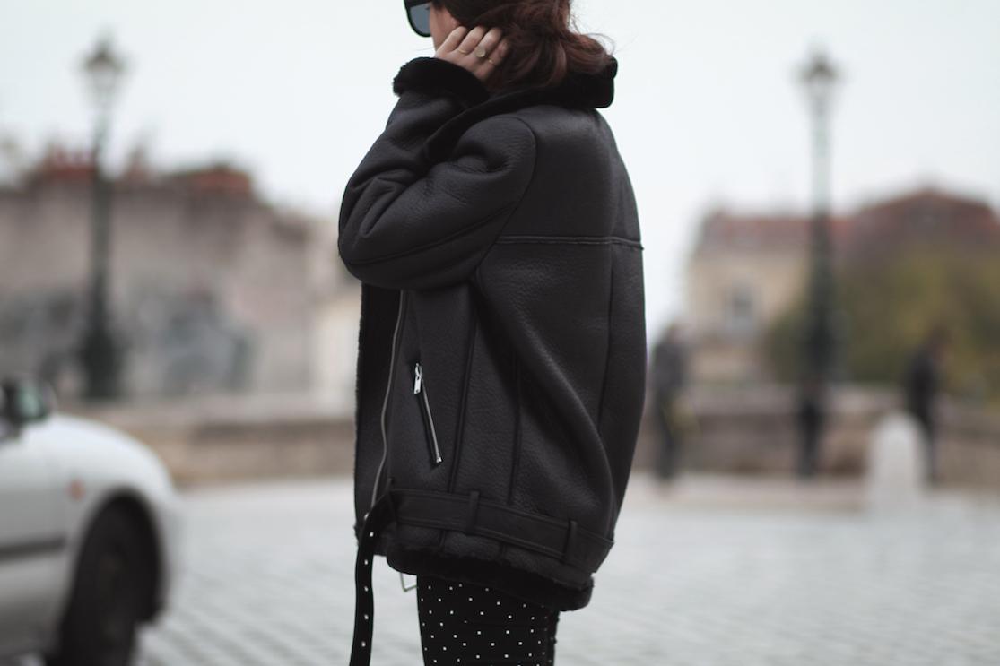 manteau-veste-fourre-zara-noir