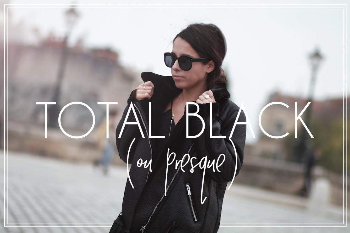 Total black ou presque