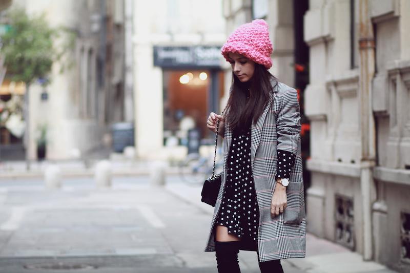look-robe-cuissardes-manteau-prince-de-galles