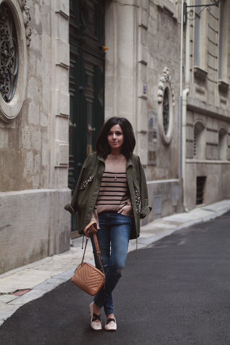 blog-mode-look-veste-kaki-perles