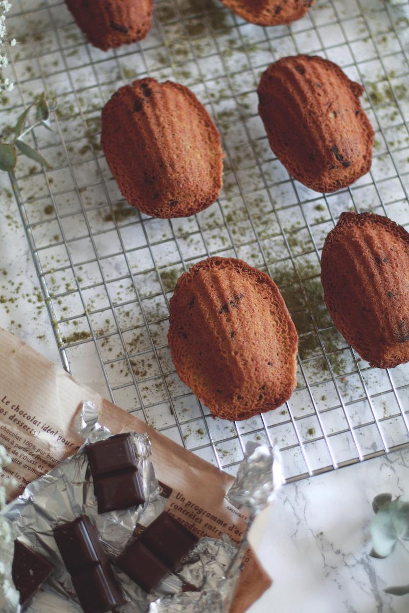 madeleines-thé-matcha