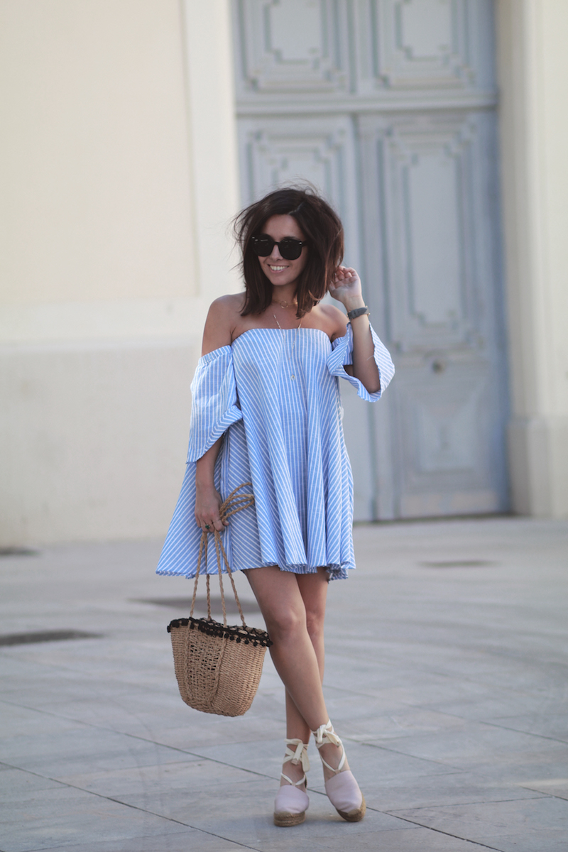 blog-mode-robe-bardot-rayée