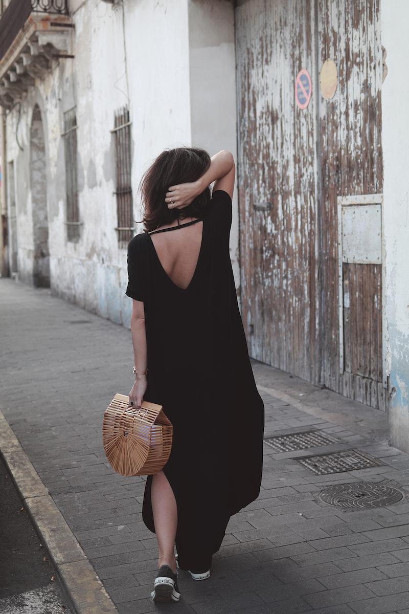 robe-longue-noire-oversize