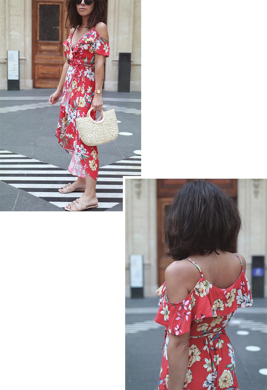 robe-rouge-longue-bershka-blog-mode
