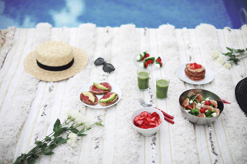 brunch-pique-nique-été-sain-végétarien