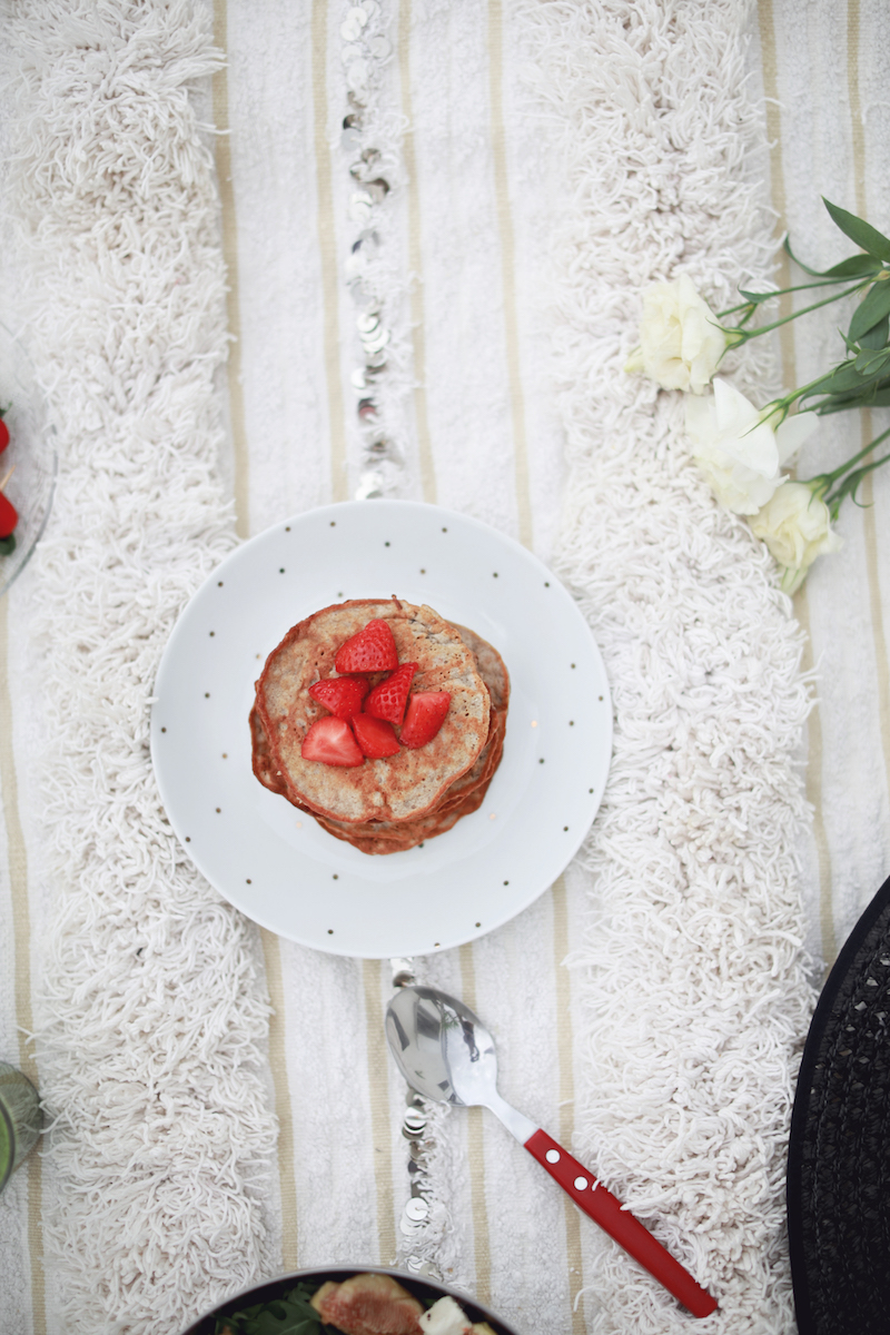 pancakes-sains-banane-recette-rapide