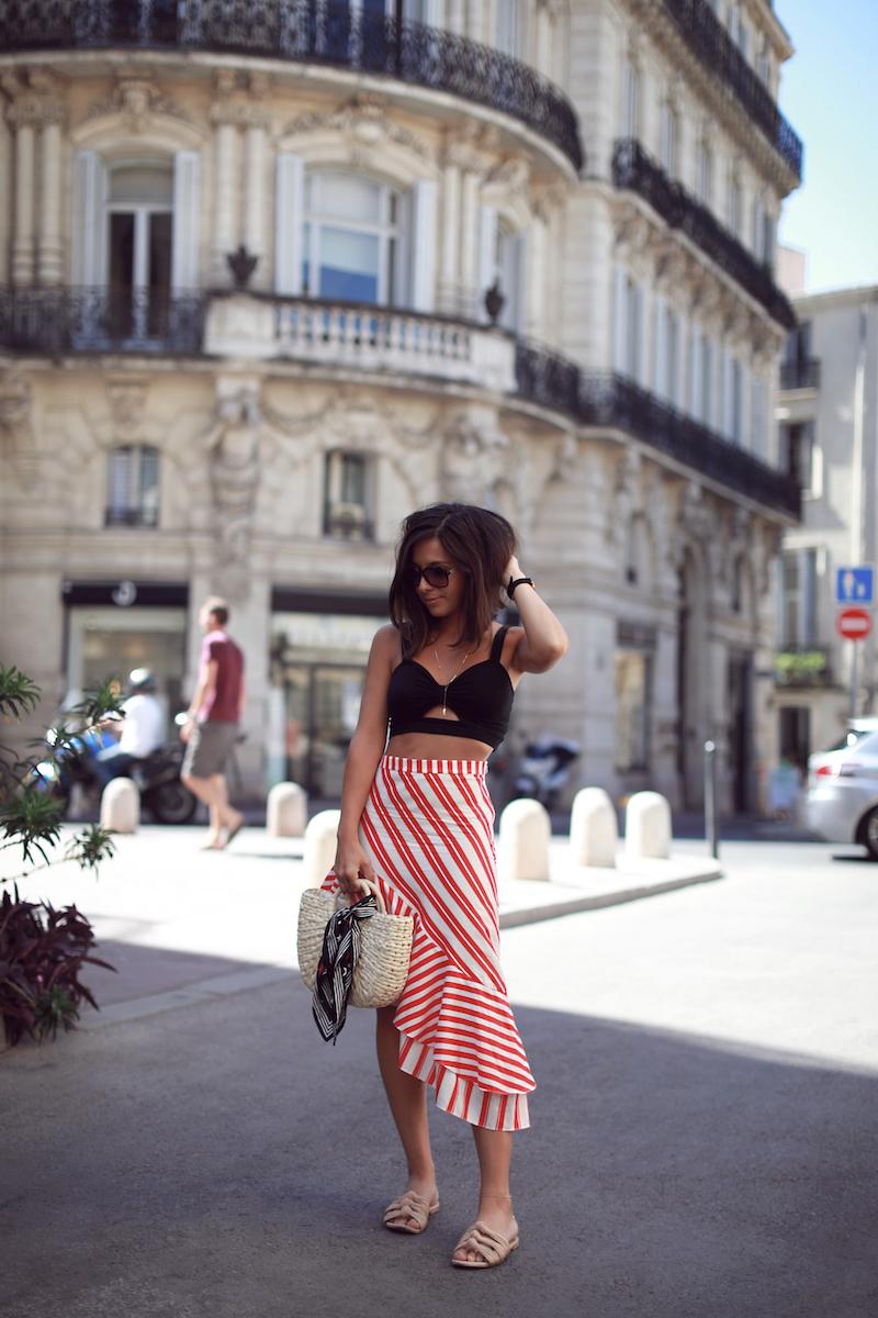 blog-mode-jupe-volants-zara-rayée