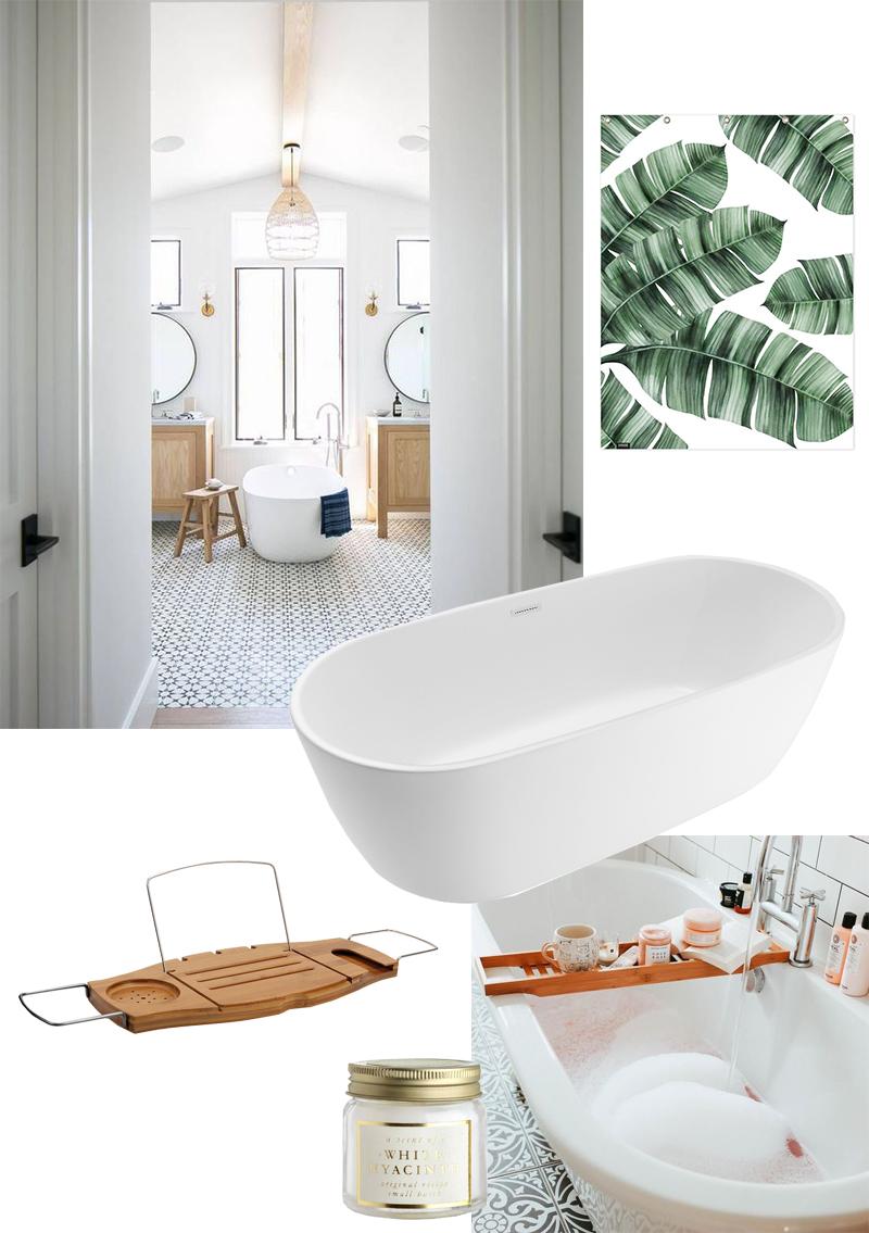 Moodboard salle de bain parfaite