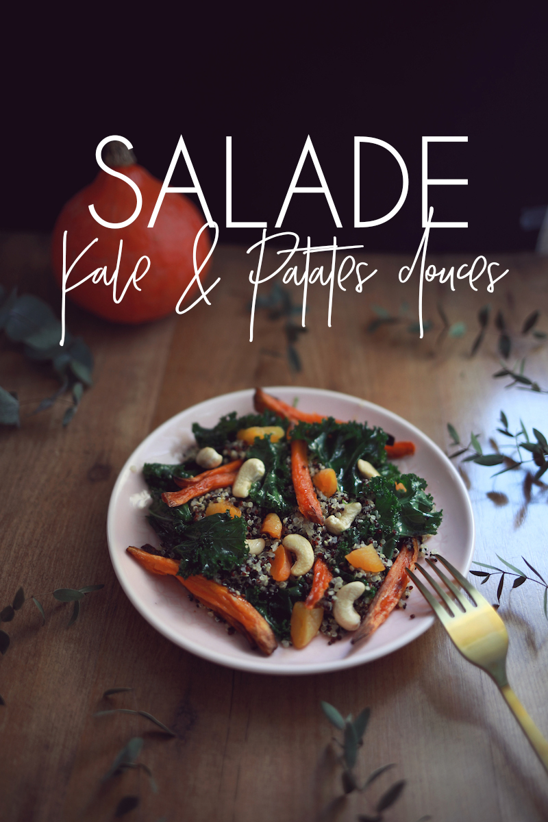 Salade kale & patates douces