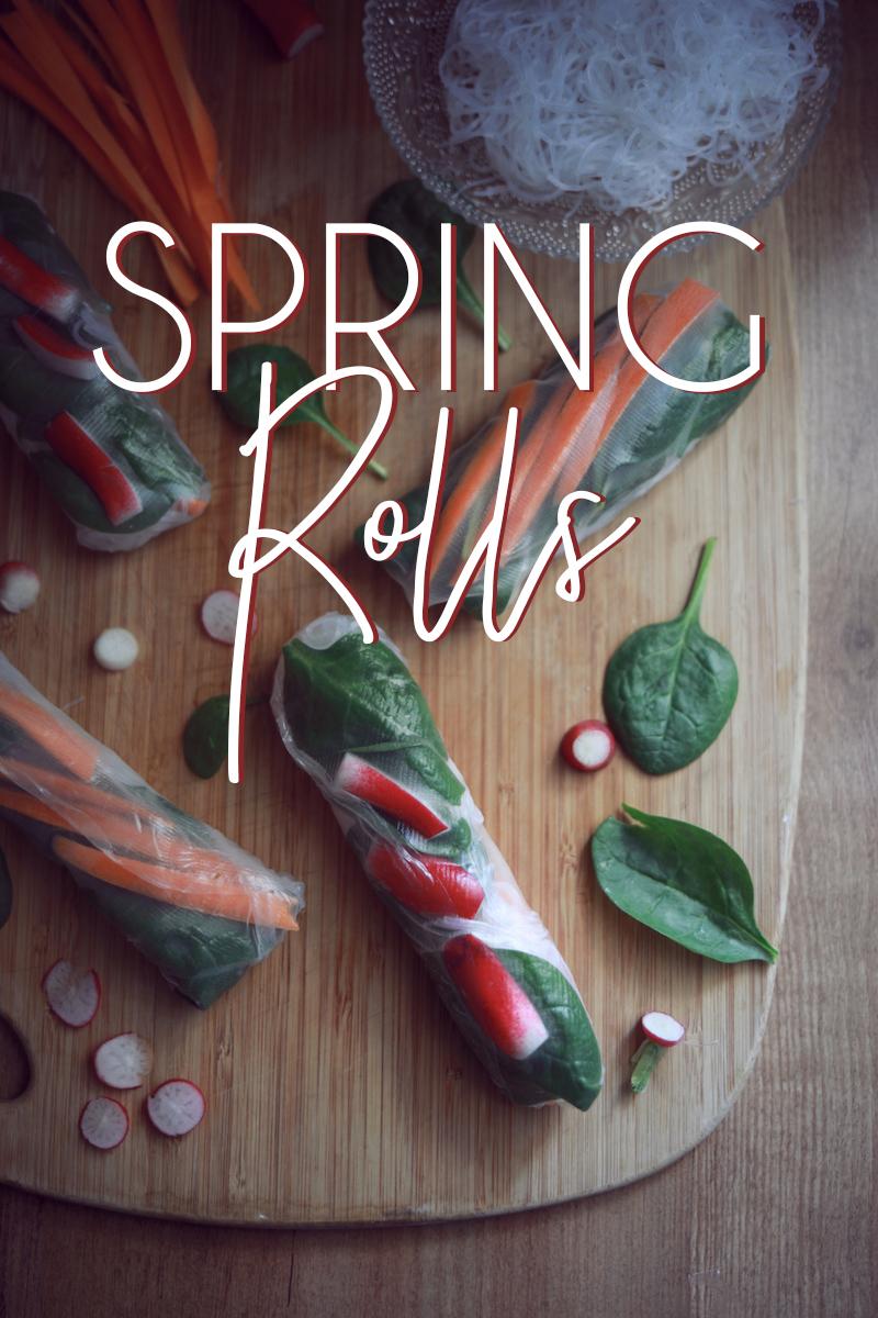 Spring Rolls saumon fumé
