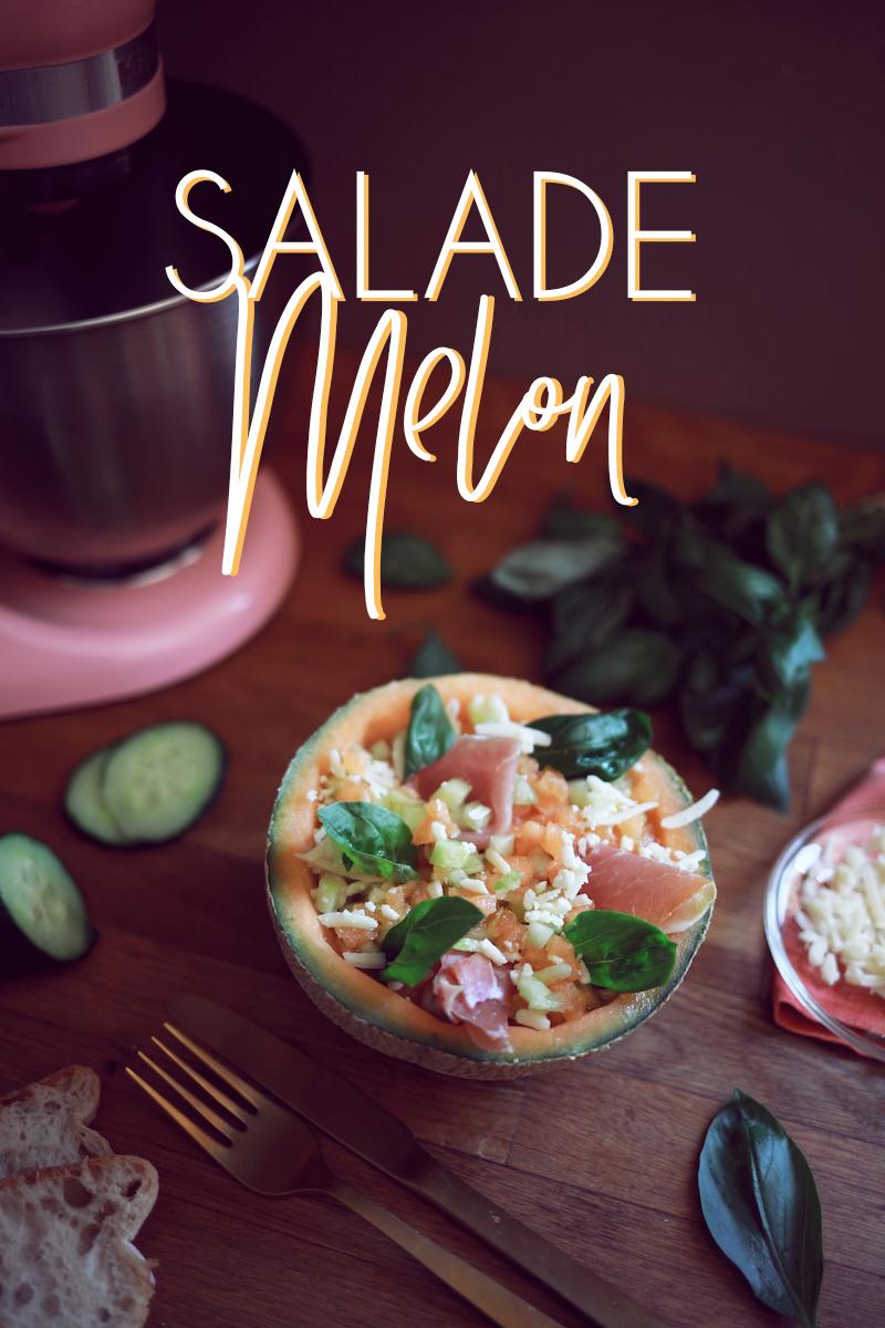 Salade de melon avec le robot Mini de KitchenAid (+ concours)