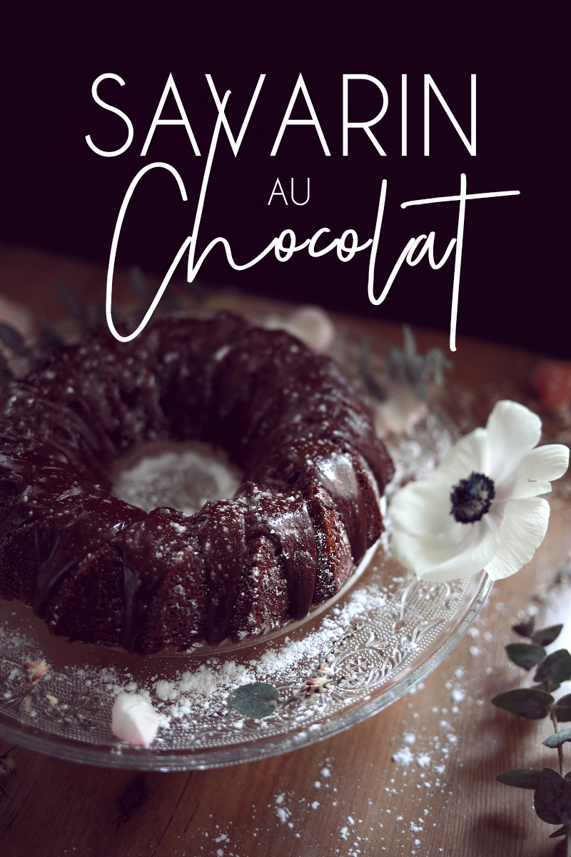 Savarin au chocolat