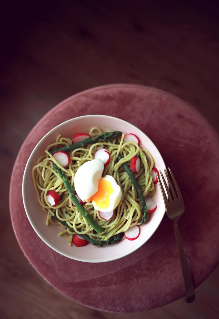 Spaghettis printaniers