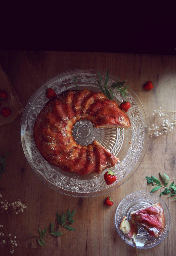 Moelleux verveine fraises