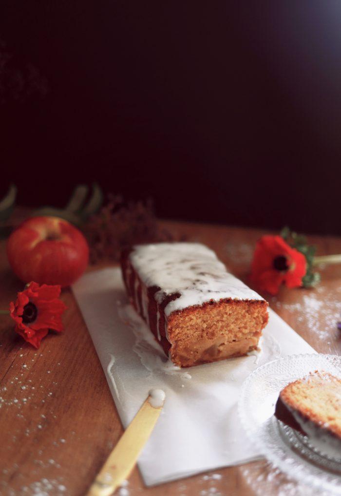 Cake rhum pommes
