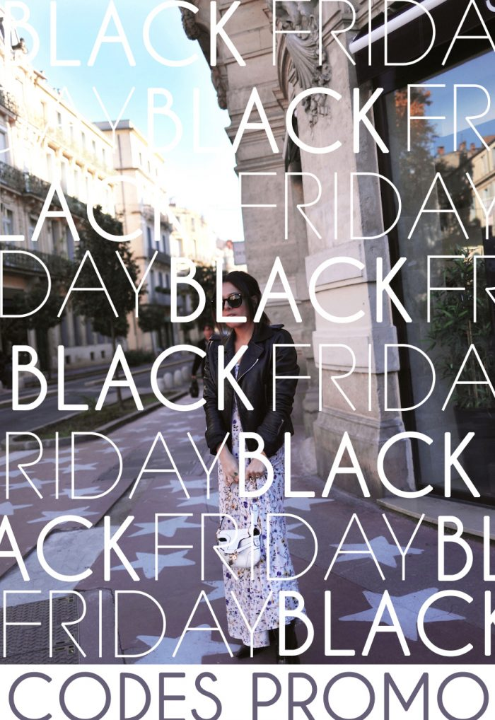 Black Friday – Les codes promo