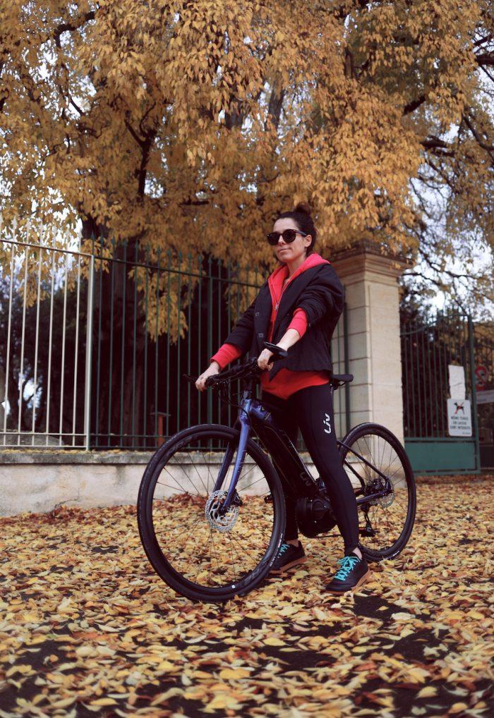 J'ai testé le vélo électrique avec Liv